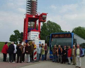 AG 60 + beim Jade Weser Port