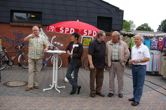 Howard Jacques, Christine Will, Andre Bents, Wilfried Adam und Holger Barkowsky