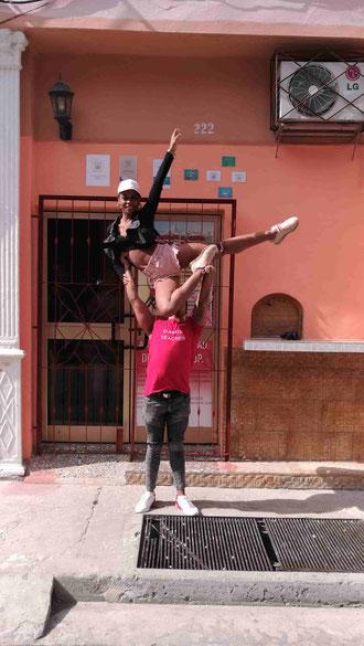 Dance school Salsabor a Cuba