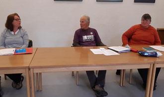 11.05.2020: Dennis Duvall, Susan van der Hijden und Chris Danowski als Anklagte (und zugleich Ankläger gegen Atomwaffen)