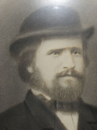 Portait photographique d' Yves Floch  vers 1880
