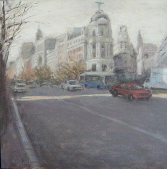 Alcalá esquina a Gran Vía