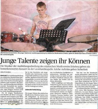 Aachener Zeitung 9.7.2018 - Artikel zum Vergrößern einfach anklicken.