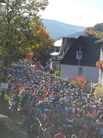 Starterfeld Langenberg-Marathon 2011