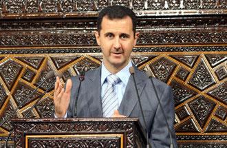 كلمة الرئيس الأسد في مجلس الشعب بعد أداء القسم الدستوري