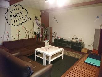 古民家カフェ Full House(フルハウス)のシアタールームイメージ