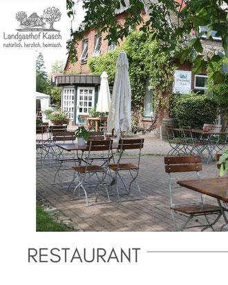 Bild der Terrasse mit Link zum Restaurant