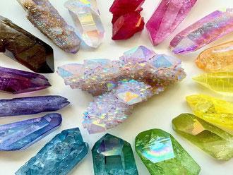 Lithothérapie - nettoyage des minéraux - casa bien-être