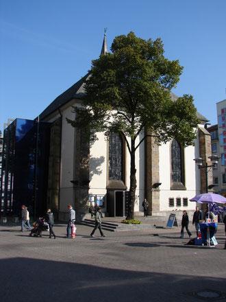 Essener Marktkirche. Foto von © Gertraud und Alf Sander