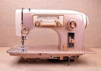Gritzner GU K, Zauber-Automatic, mit Radio-Skala, Flachbett, Unterbaumotor, Hersteller: Gritzner-Kayser AG, (Bilder: Nähmaschinenverzeichnis)