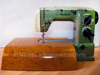 Anker FZ Automatic, Freiarm, Hersteller: Anker-Werke AG Bielefeld (Bilder: I. Naumann)