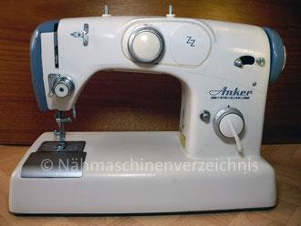 Anker Gloria Zickzack Flachbett, Hersteller: Anker-Werke AG. Bielefeld (Bilder: I. Naumann)