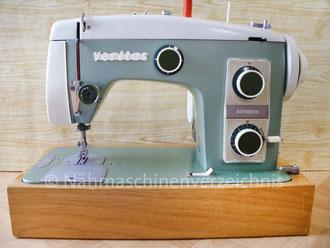 Veritas 8014/36 Automatic, Flachbett mit Anbaumotor o. Fußantrieb, Hersteller: VEB Nähmaschinen Werk Wittenberge (Bilder: I. Naumann)