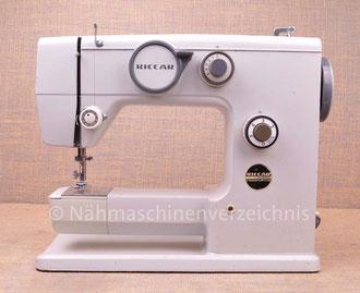 Riccar 528 Automatic Freiarm Automatik-Haushaltsnähmaschine, Hersteller: Riccar, Japan (Bilder: Nähmaschinenverzeichnis)