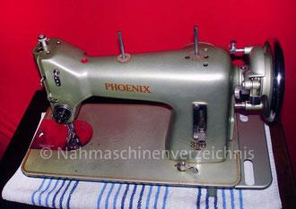 Phoenix 350,  Hersteller: Anker-Phoenix Nähmaschinen AG, Bielefeld (Bilder: M. Obenaus)