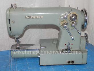 Dürkopp 1031, Freiarm Automatik-Nähmaschine, Hersteller Dürkopp AG, Bielefeld (BIlder: M. Maag)
