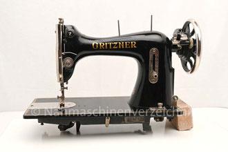 Gritzner VG, Flachbett, Fußantrieb, Anbau von Motor möglich, Hersteller: Gritzner-Werke, Durlach (Bilder: I. Naumann)