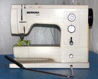 Bernina Record 830, Freiarm mit Einbaumotor,          Zickzack - Nähmaschine mit Zierstich-Automatic. Hersteller: Fritz Gegauf AG Bernina-Nähmachinenfabrik Steckborn TG/Schweiz (Bilder: M. Maag)