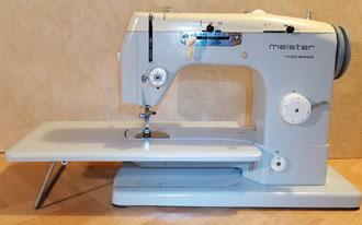 Meister noblesse 451 Freiarm, Automatik mit Schablonen, Hersteller: Meister-Werke GmbH Schweinfurt (Bilder: I. Naumann)