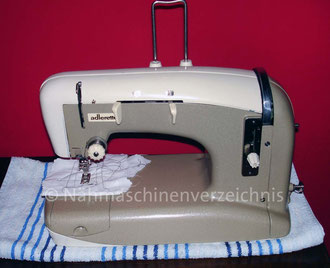 Adlerette 200, Hersteller: Kochs Adler Nähmaschinenwerke AG Bielefeld (Bilder: M. Obenaus)