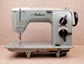 Anker RZ Zickzack Flachbett, Hersteller: Anker-Werke Bielefeld (Bilder: Nähmaschinenverzeichnis)