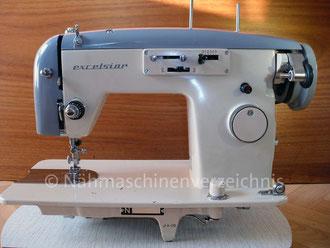 Anker Phoenix excelsior ZZ 151, Vertrieb/Hersteller: Anker-Phoenix Nähmaschinen GmbH. Bielefeld in Zusammenarbeit mit Fukusuke und Toyomenka (Bilder: I. Naumann, Nähmaschinenverzeichnis)