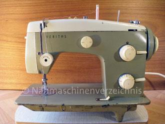 Veritas 8014/33, Automatic, Flachbett mit Anbaumotor o. Fußantrieb Hersteller: VEB Nähmaschinen Werk Wittenberge (Bilder: I. Naumann)