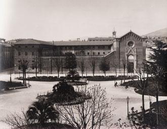 prospetto del convento di Piazza Savonarola