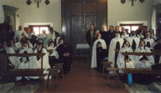 Firenze 2003 - S. Maria degli Angeli - Incontro internazionale delle Monache Claustrali Carmelitane