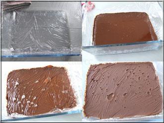 Mouler ganache chocolat cognac