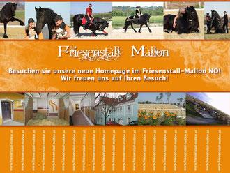 Flyer unseres Friesenstall Mallon