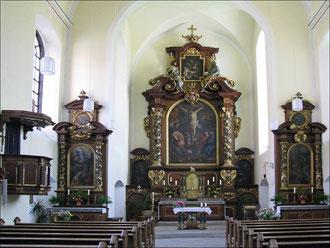 Innenaufnahme vom Kloster