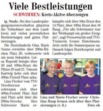 Buxtehuder Wochenblatt vom 25.07.2012