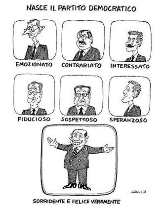 vignetta del 21/4/2007 tratta da http://www.corriere.it/