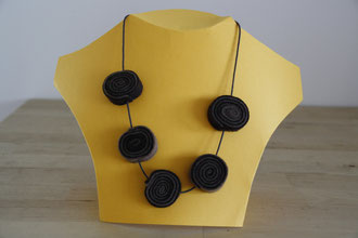 Filzkette / felt necklace