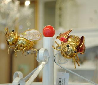 ミツバチ 蜜蜂 みつばち Bee ビー クリップ チャーム クリップチャーム クラフト