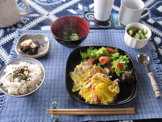 Japanese breakfast  和朝食