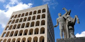 OmoGirando l'EUR - Palazzo della Civiltà Italiana