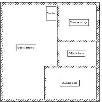 plan etage gite ecologique thierache