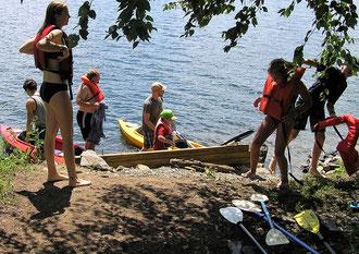 Family, paddle boards, kayaks, canoes, rowboats