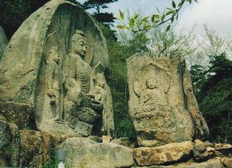 Bergeinsiedelei einer Nonne bei Kyongju, Südkorea, Foto: Weil