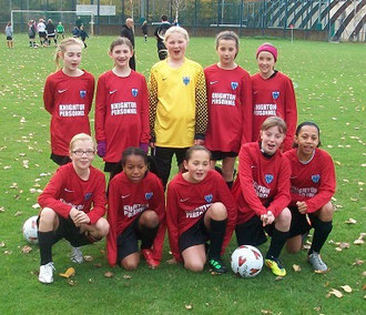 Ryan FC Under 12 girls