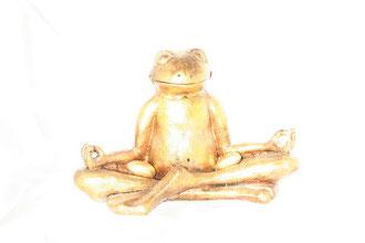 Goldener Buddhafrosch