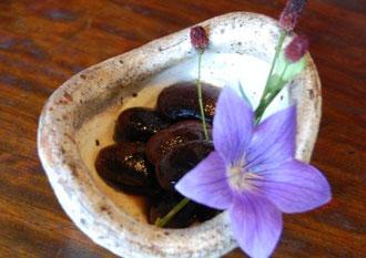 季節の小鉢(花豆)