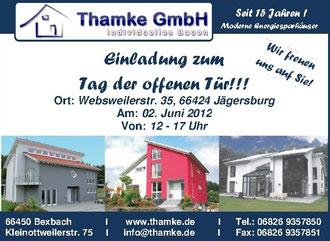 Thamke GmbH Tag der offenen Tür