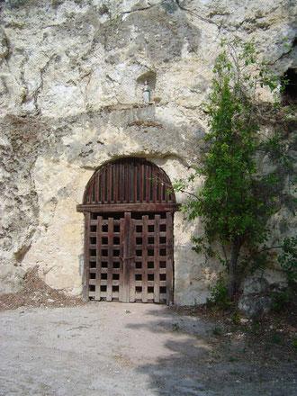 La cave de saint Roch
