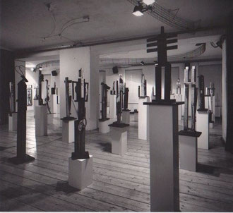 """Figurenwald"",Ausstellung Echoraum (Foto: Gerald Zugmann)"