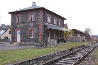 Endstation Bahnhof Burglengenfeld