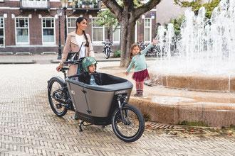 Carqon Lastenfahrräder in der e-motion e-Bike Welt in Stuttgart