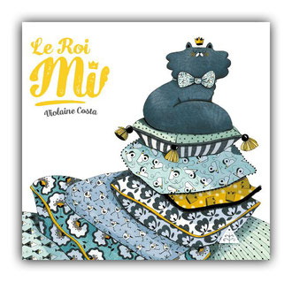 violaine costa illustration couverture du livre pour enfant le roi mi aux éditions Elitchka